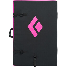 Black Diamond Circuit Tappetino Crash Pad, black-ultra pink